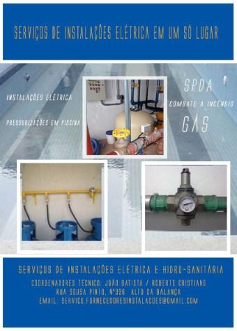 Fornecedor de instalações,manutenções,predial e comercial
