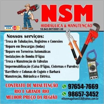 NSM Hidráulica e Manutenção