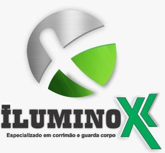 Iluminox corrimão de inox
