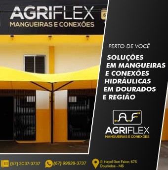 AGRIFLEX COMÉRCIO DE MANGUEIRAS E CONEXÕES HIDRÁULICAS LTDA
