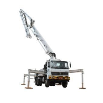 Bombeamento de concreto por caminhão lança (até 30m³)