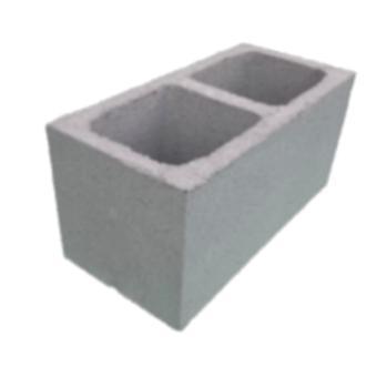 Bloco de concreto vedação, 19x19x39cm (peça)