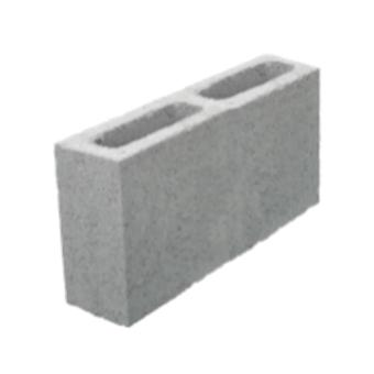 Bloco de concreto vedação, 9x19x39cm (peça)