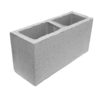 Bloco de concreto vedação, 14x19x39cm (peça)