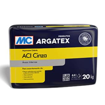 Argamassa AC-I interior Argatex cinza (saco 20kg)