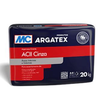 Argamassa AC-II exterior Argatex cinza (saco 20kg)