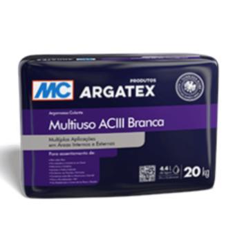 Argamassa AC-III multiuso Argatex branca (saco 20kg)