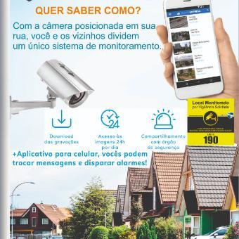Câmera para sua rua - acesso compartilhado