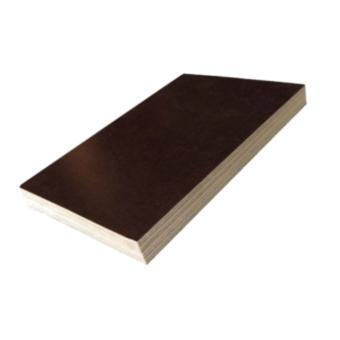 Chapa madeirite plastificado preto 10mm, 1,10x2,20m (peça)
