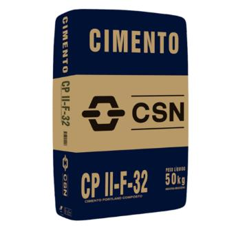 Cimento CSN CP II F-32 (saco 50kg)