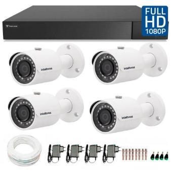 KIT 4 Câmeras AHD - Marca própria Vision Segurança