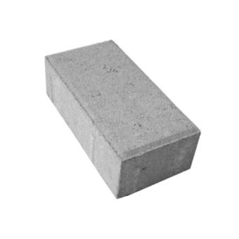 Piso de concreto retangular natural, 10x20x6cm, 35 MPa (m²)