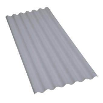 Telha de fibrocimento ondulada 6mm Multilit, 1,53x1,10m (peça)